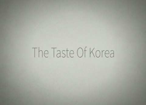 the taste of korea