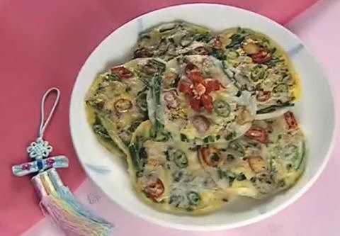 아름다운 한국음식 - 해물파전(영어 자막)