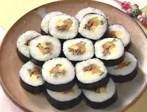 한국음식 Best 12 - 김밥(영어자막)