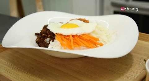쌈장볶음 김치비빔밥